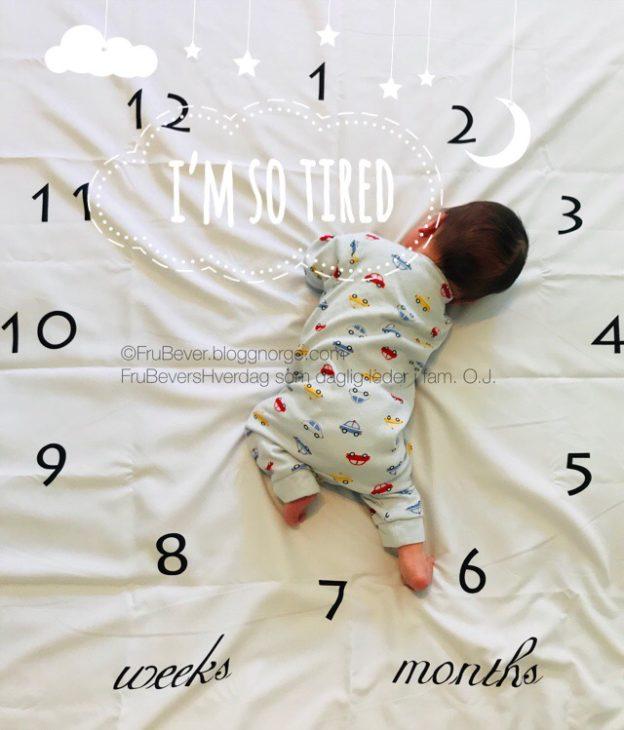 FruBeversHverrdag // Oskar nyfødt barsel baby