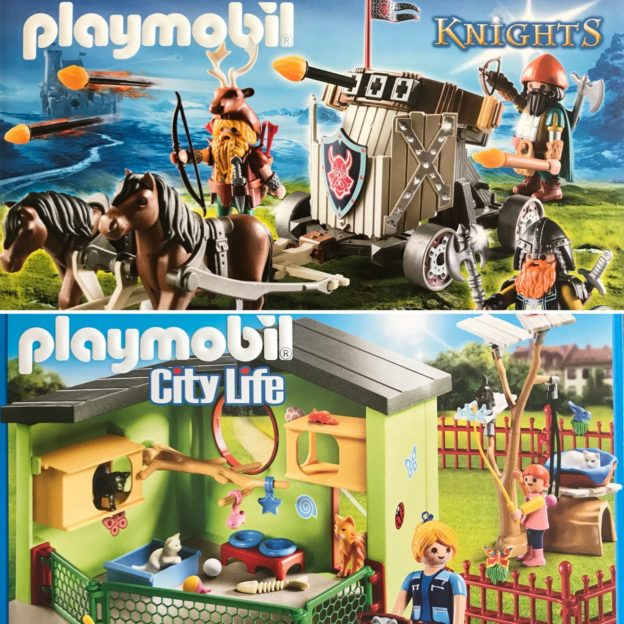 Playmobil Norge - sommerens nyheter city LIFE Knights Handeland PR