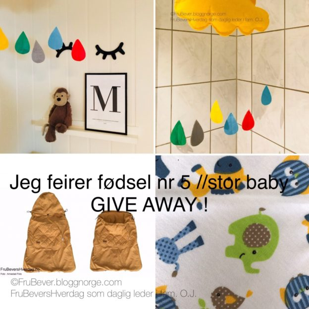 Give away @ Frubevershverdag LUI. ENFANTS FOR ENFANTS BY O.J.