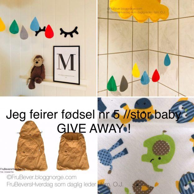 Give away @ Frubevershverdag LUI. ENFANTS FOR ENFANTS BY O.J.
