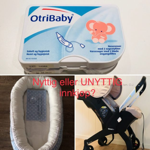Nyttig eller fullstendig unyttig babyinnkjøp