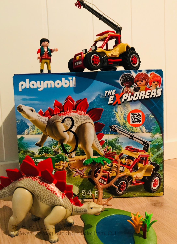 Handeland PR // FruBeversHverdag Playmobil Xplorers