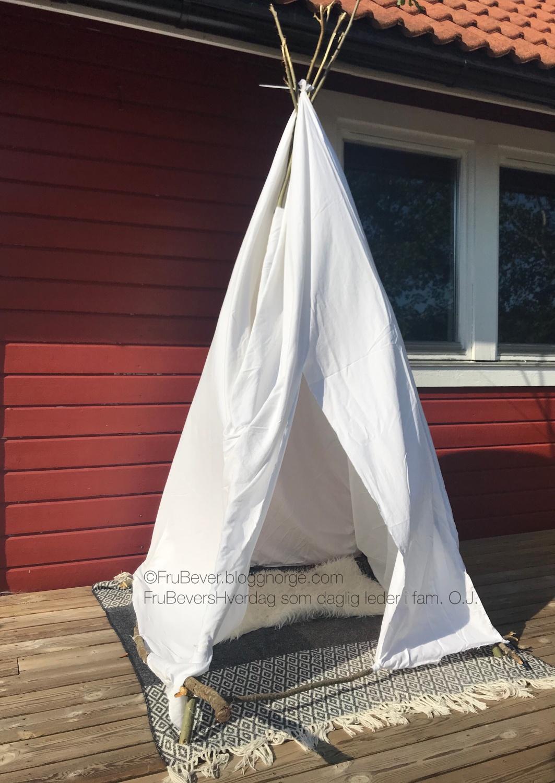 DIY Tipi telt på budsjett