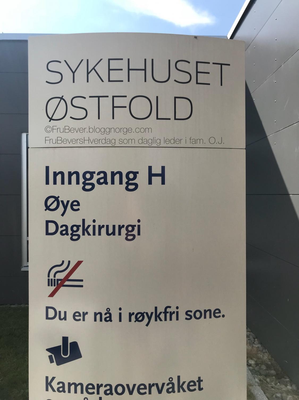 Her har jeg flydd ut og inn de siste dagene @Sykehuset Østfold