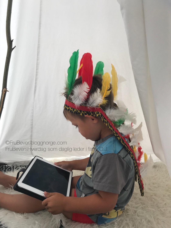 Tror du inadianerne hadde Iapd i Tipi teltene?