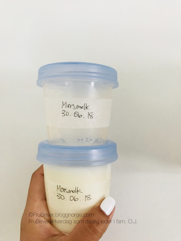 Bli morsmelkgiver - støtt melkebanken!