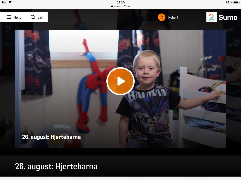 Skjermdump TV 2