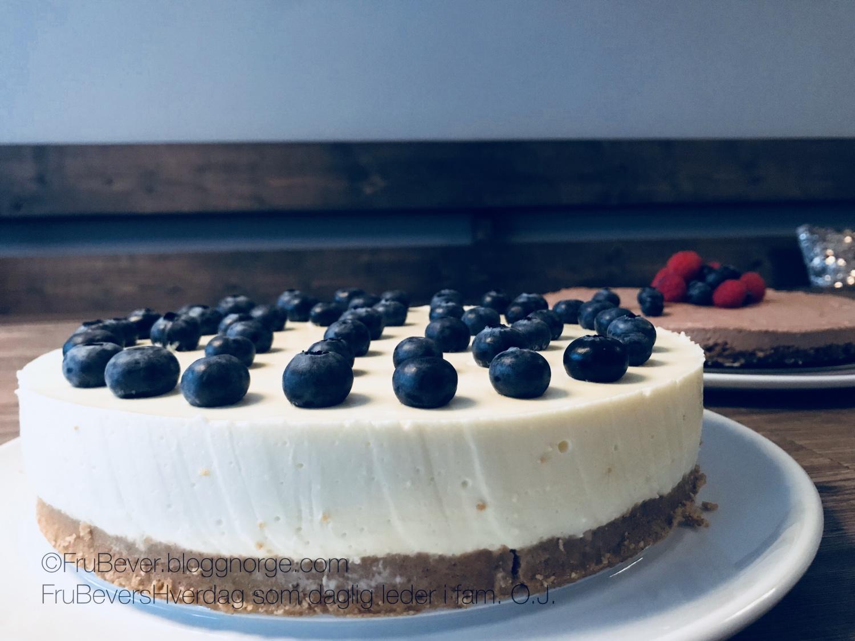 Bake off @ FruBeversHverdag ostekake med oppskrift