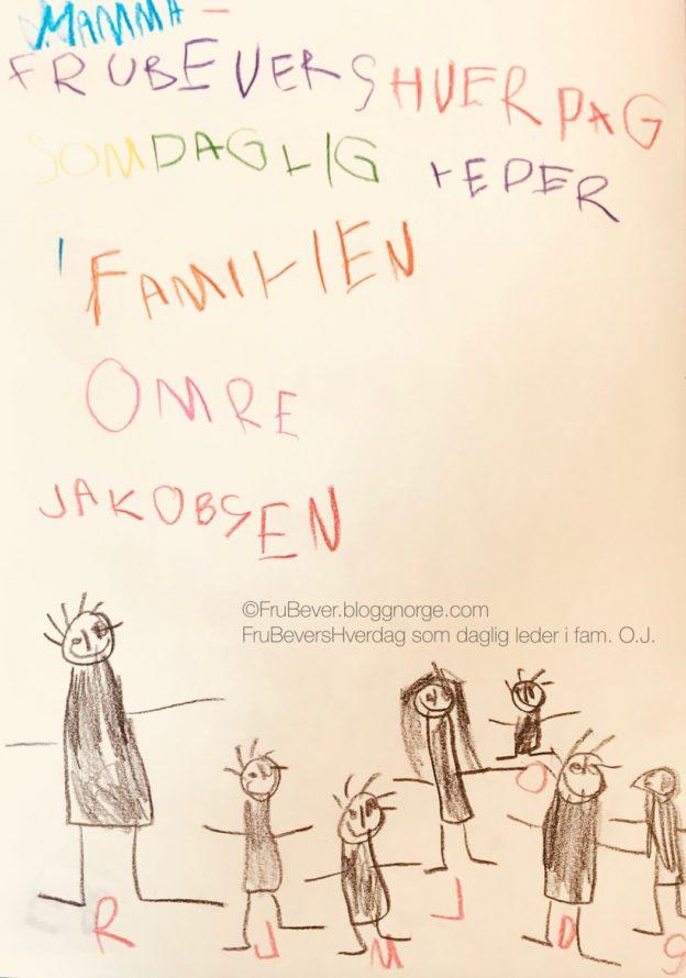 Frubevershverdag // logo // aktivitet å gjøre med barna