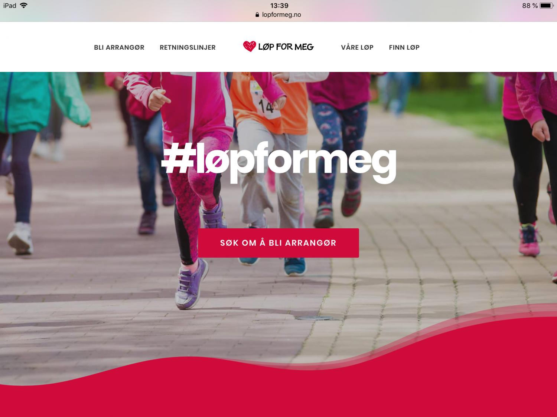 Løp for meg // FruBeversHverdag med Barnekreftforeningen, Skogstad og Springtimegroup