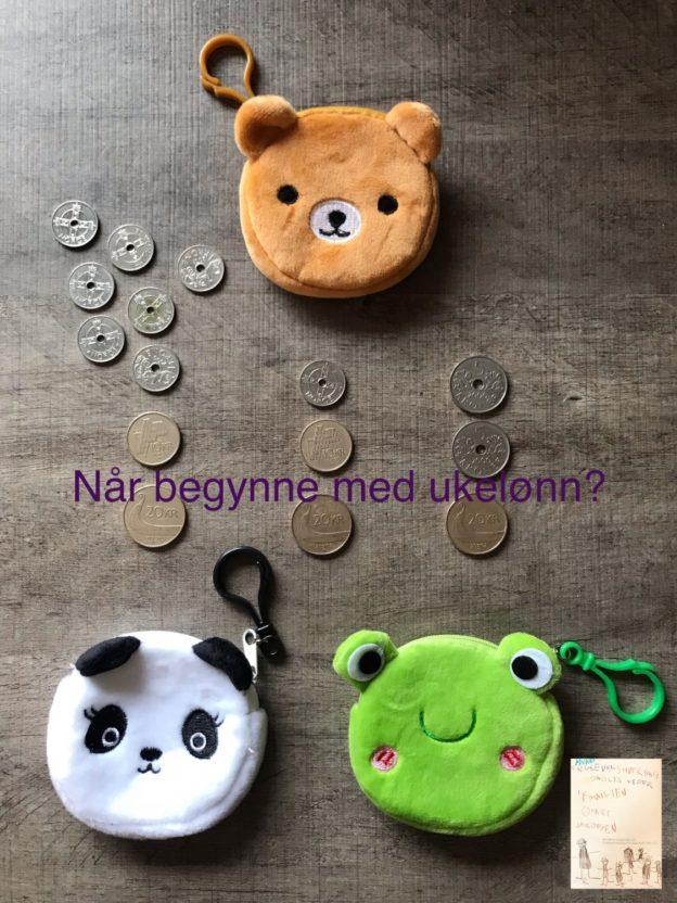 Når begynne med ukelønn?