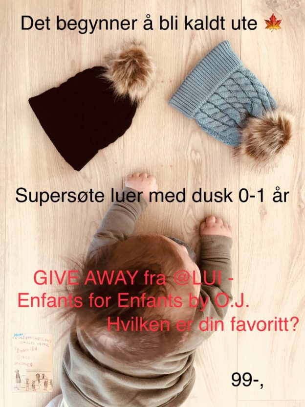 Give away // egen annonse LUI - Enfants for Enfants by Omre J.