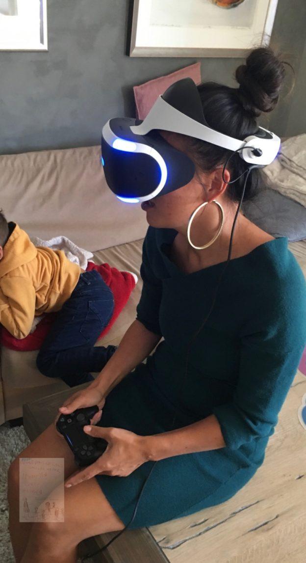 VR PlayStation spill