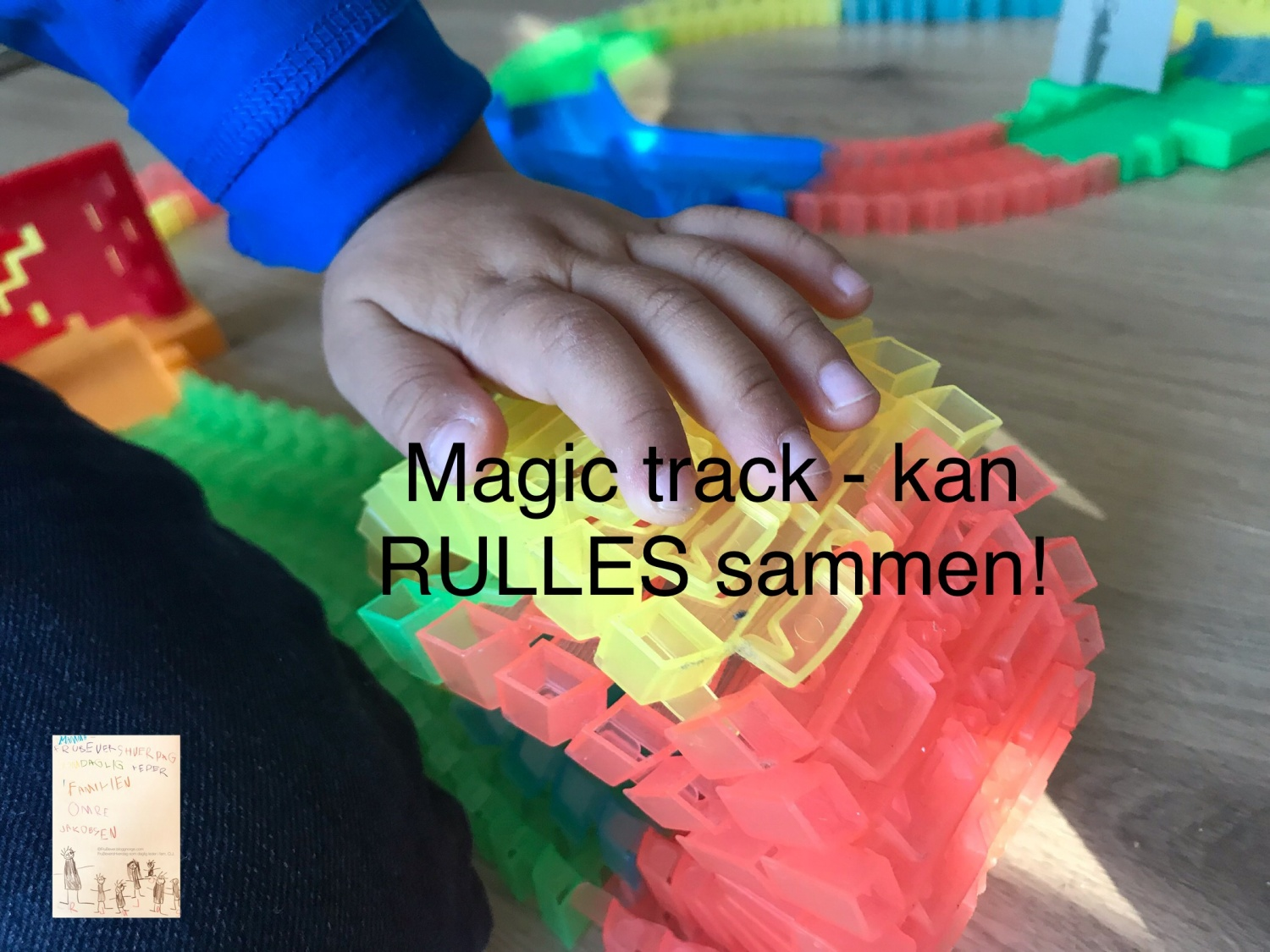 Magic track @FruBeversHverdag // temabursdag