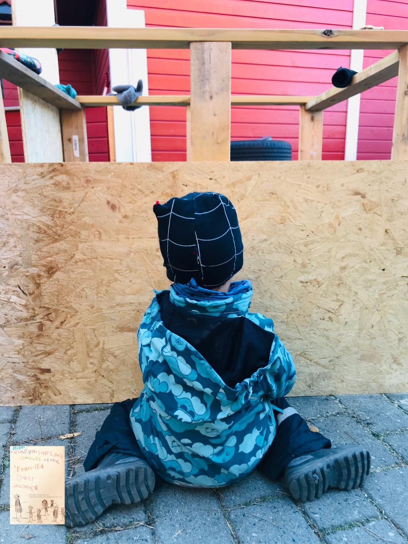 Prosjekt trehytte DIY barn