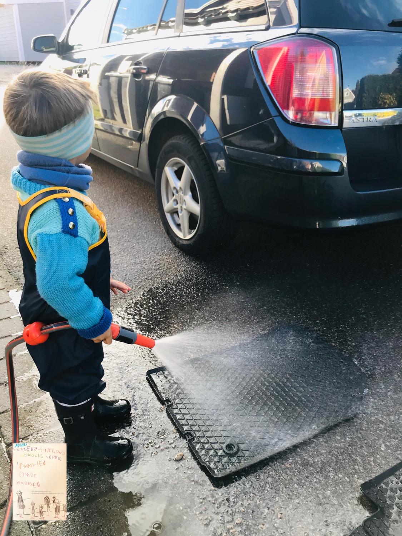 Car wash // barnearbeid @FruBevershverdag
