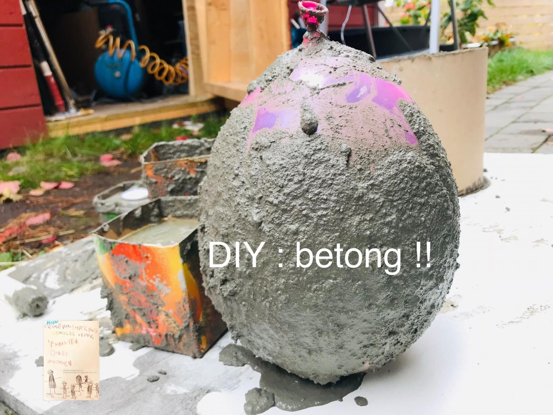 DIY betong // interiør