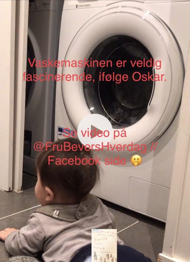 Hverdagen med vaskemaskin