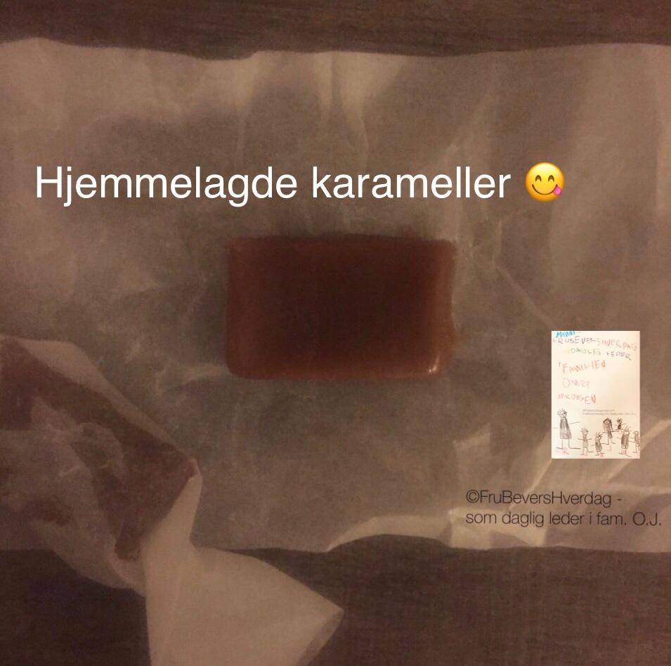 Hjemmelagde karameller // de 7 slag til jul