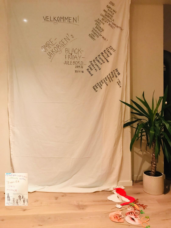 DIY fotobooth julebord props