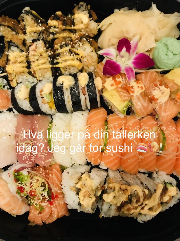 Sushi // bursdag