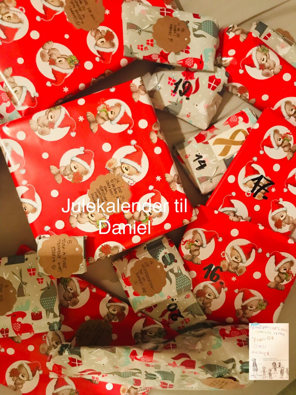 Daniels julekalender // Frubever style