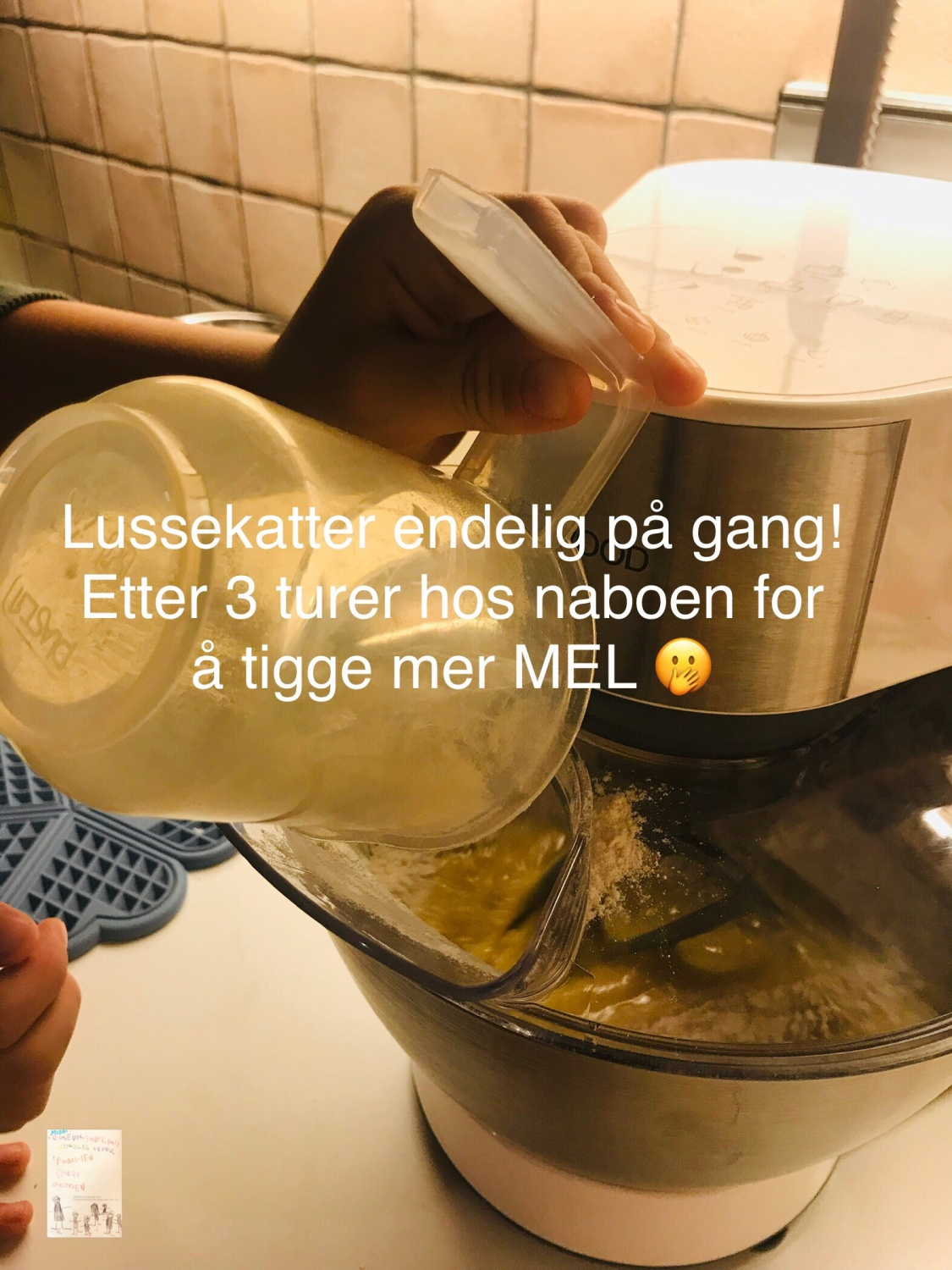 Lussekatter in the making // bake off // førjulskos med guttene