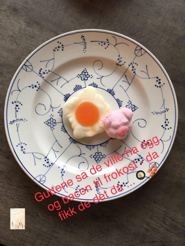 Ukesmeny for kresne barn // middagstips