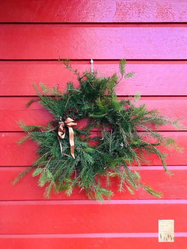 DIY julekrans // bruk naturen til julepynten