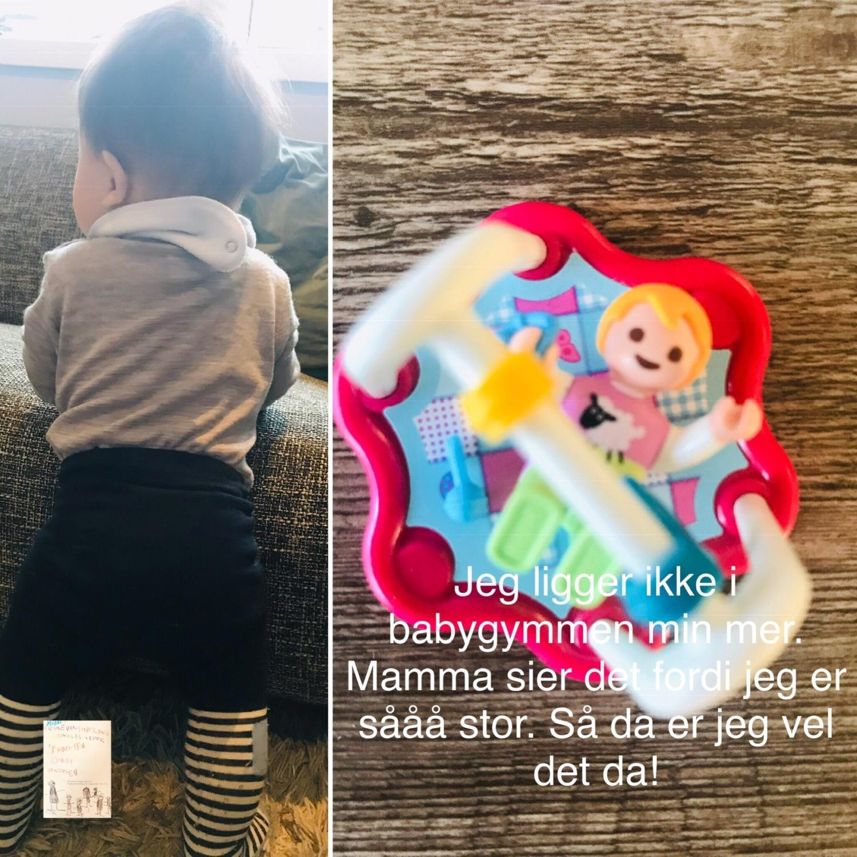 Barneblikk // verden sett gjennom baby O sine øyne 8 måneder