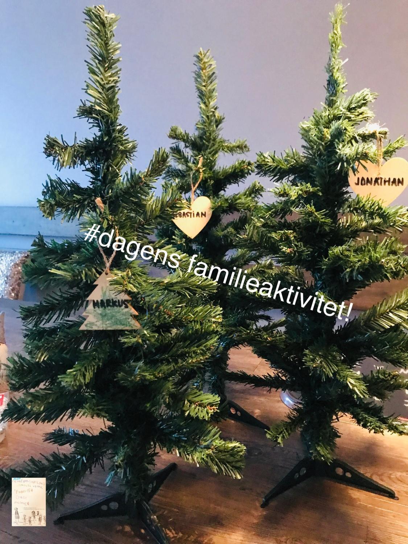 Juletre pynting // dagens aktivitet i julekalender