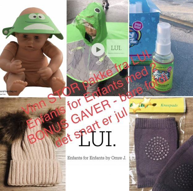 LUI enfants for enfants regnhetten kneepads babyutstyr