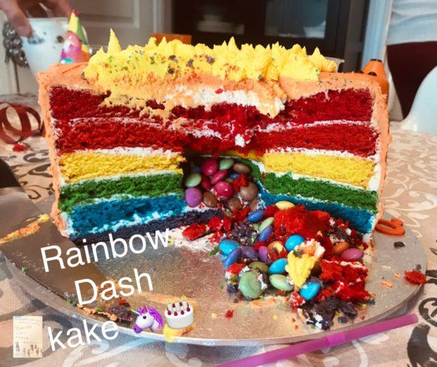 Rainbow Dash kaka // temabursdag