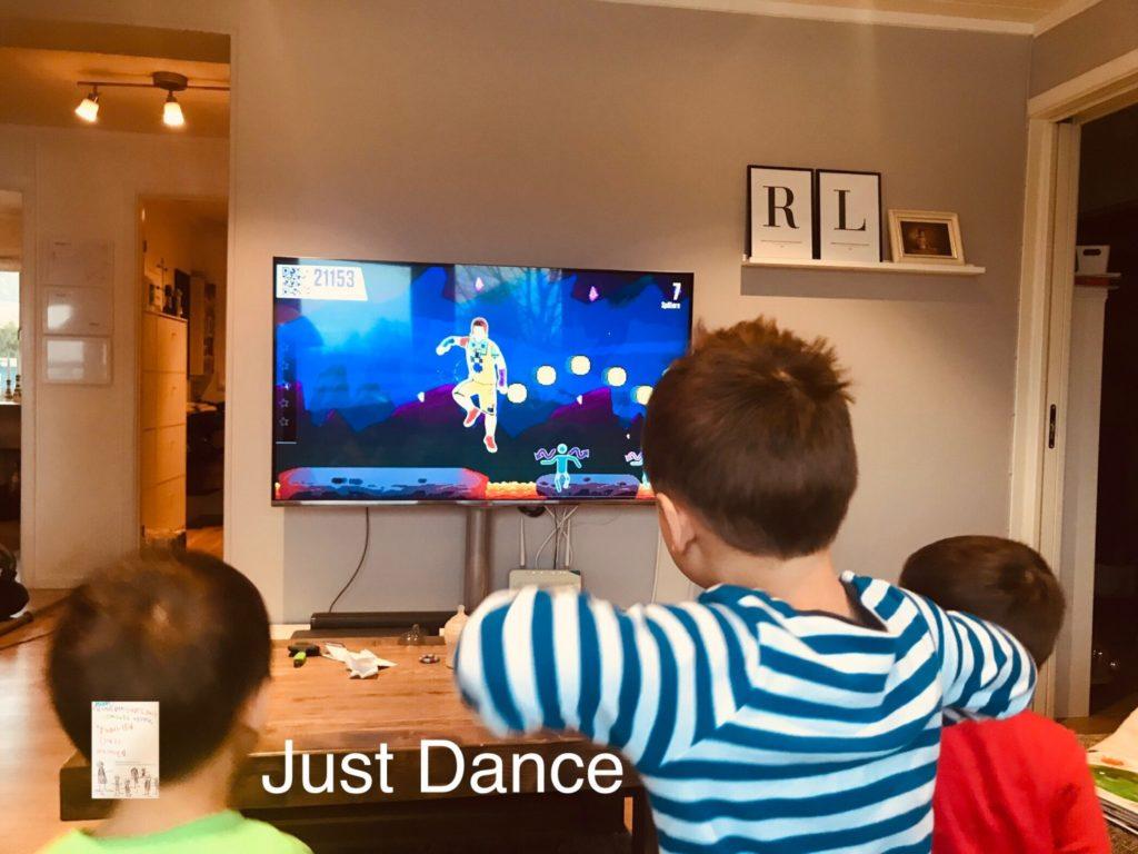 Just DANCE - familietrim @frubevershverdag