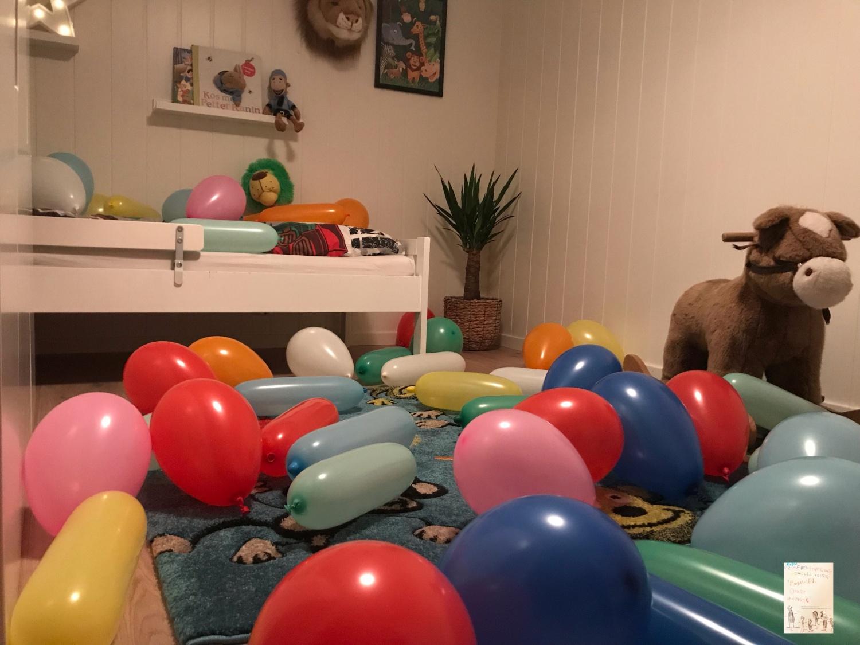 Pysjheltene temabursdag // bursdagsboksen : Markus 3 år