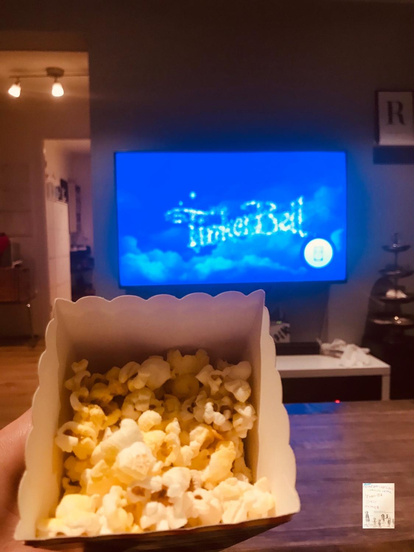 Filmkveld og popcorn