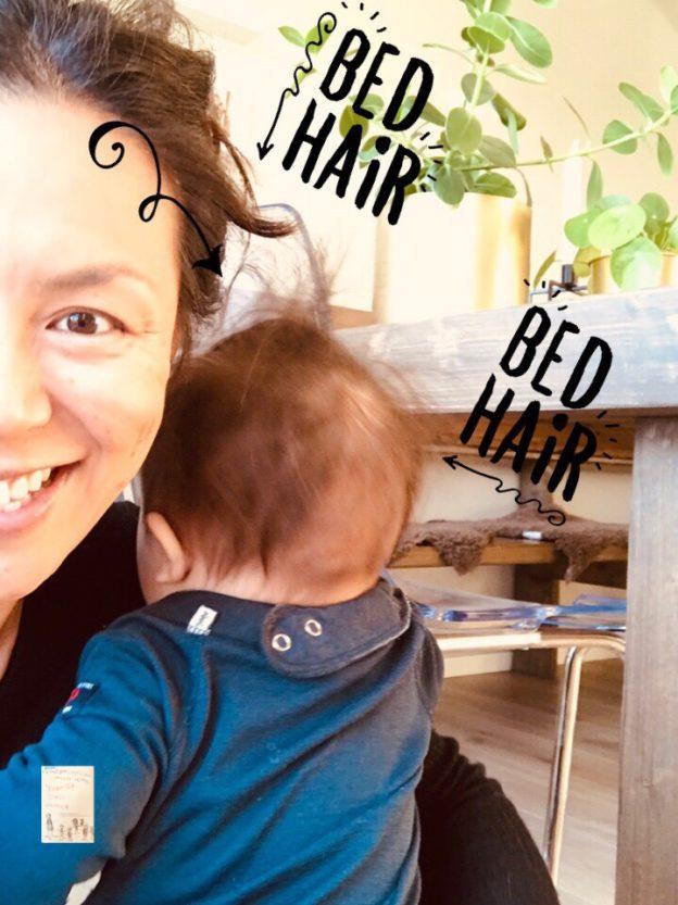 Oskar // mamma ammehår til besvær // bad hairday