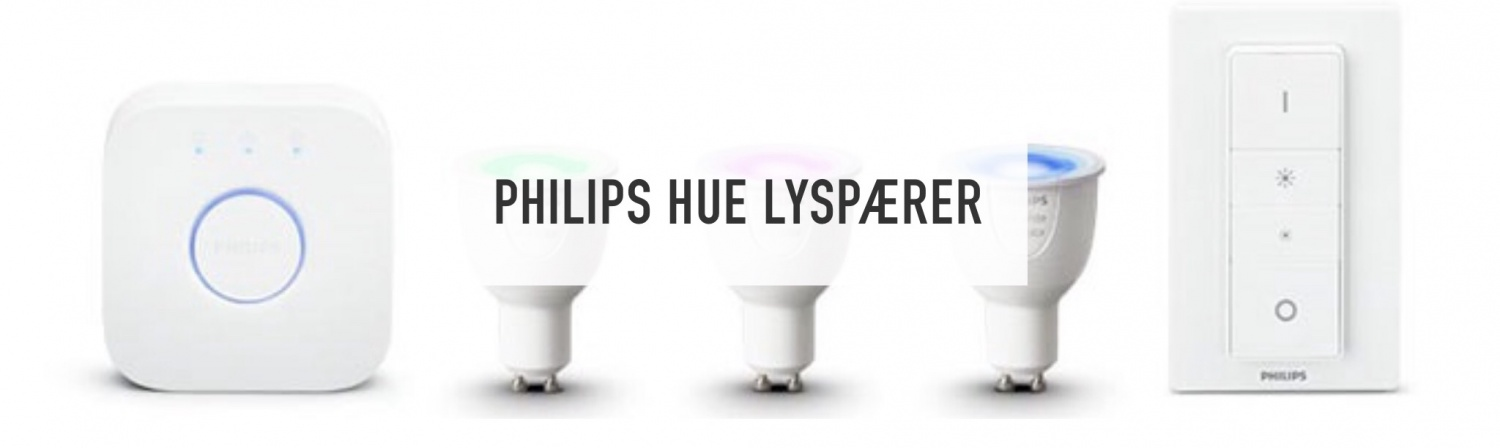 Philips Hue // Lysman.no // smartbelysning