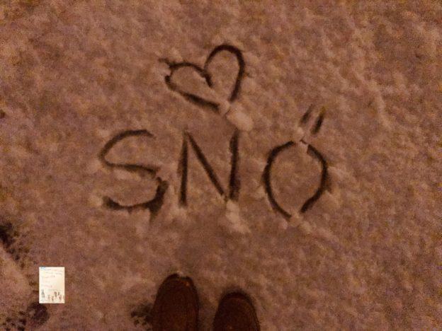 Vinter og snø ☃️❄️🌨