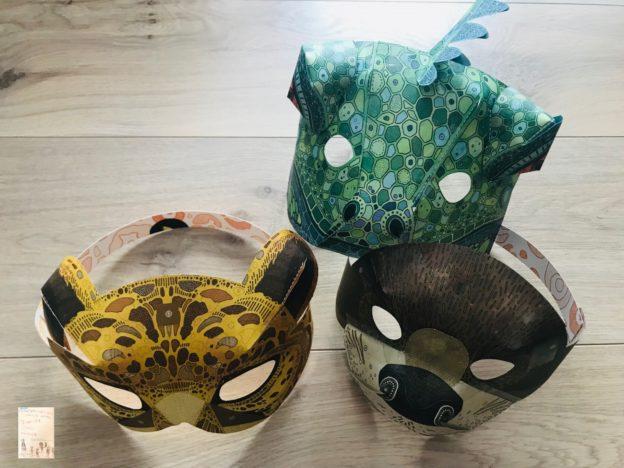 Aktivitet å gjøre med barn // DIY ansiktsmasker