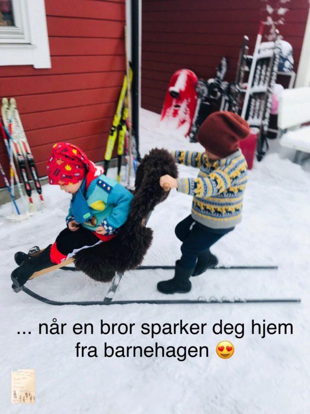Vinter og spark 🌨