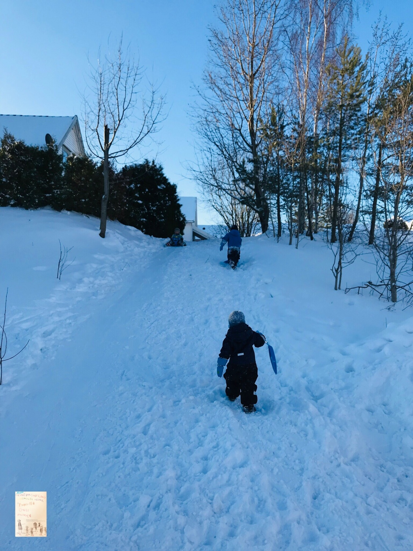 Moro i snøen ☃️