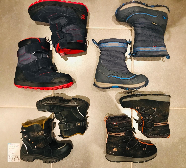 Vinterstøvler barn // best i test @FruBever (Reima, Timberland og Viking)