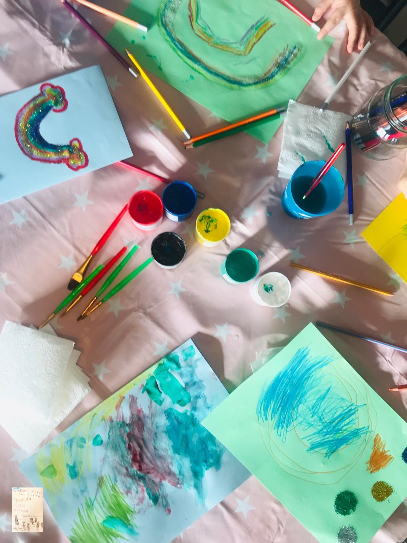 Kreativ dag @frubevershverdag // aktivitet å gjøre på en regnfull dag
