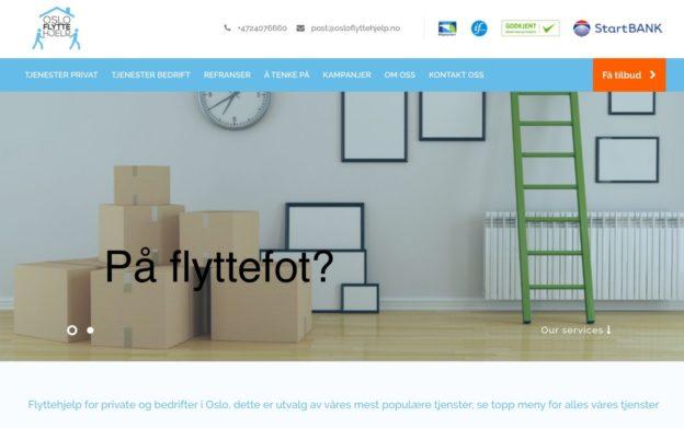 Osloflytthjelp.no // på flyttefot!