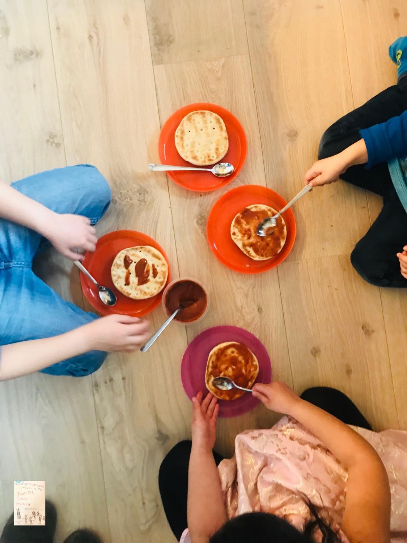 Ukesmeny for kresne barn uke 10/2019 la barna lage middag selv