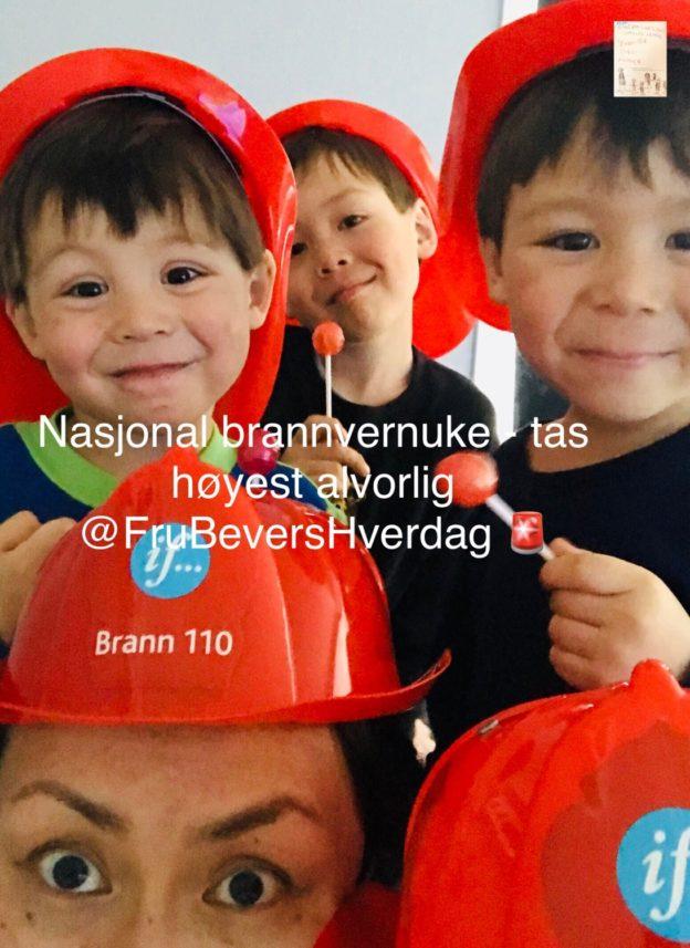 Nasjonal brannvernuke @FruBeversHverdag