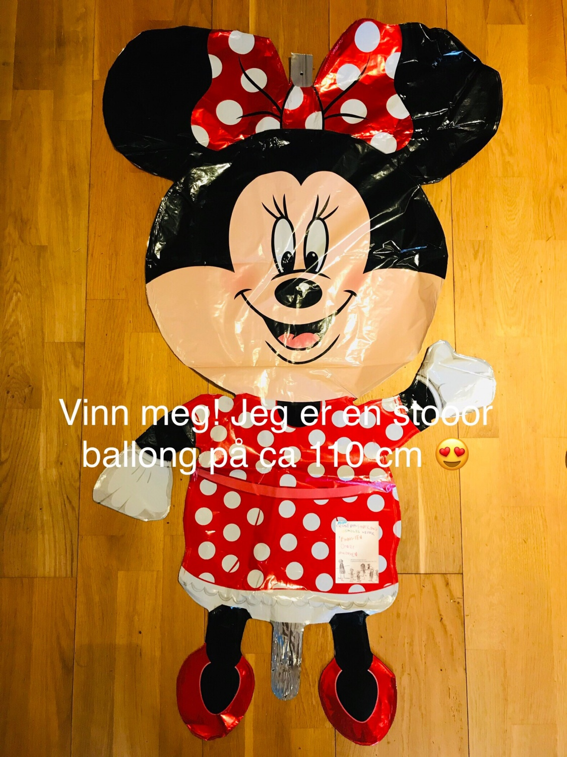 Frubevershverdag Mikke // Minnie mus give away