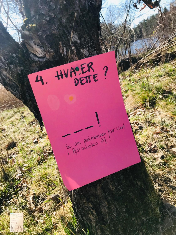 Påskeegg jakt @frubevershverdag