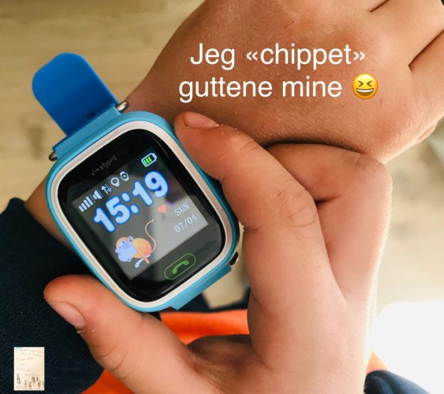 GPS for barn // mobilklokke for barn